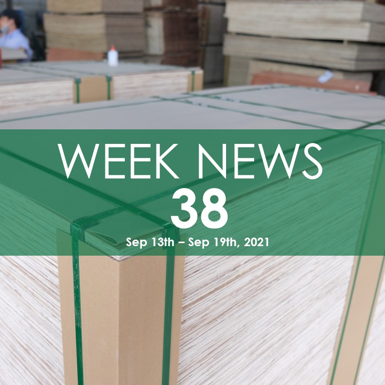 WEEK NEWS 38, FOMEX WOOD INDUSTRY NEWS
